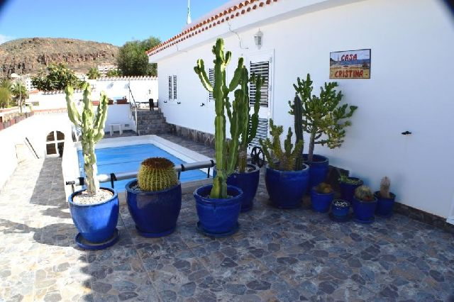House with 3 bedrooms and private pool in Palm Mar