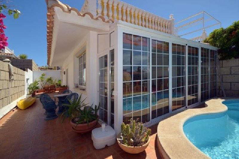 Villa con piscina privada en Palm Mar
